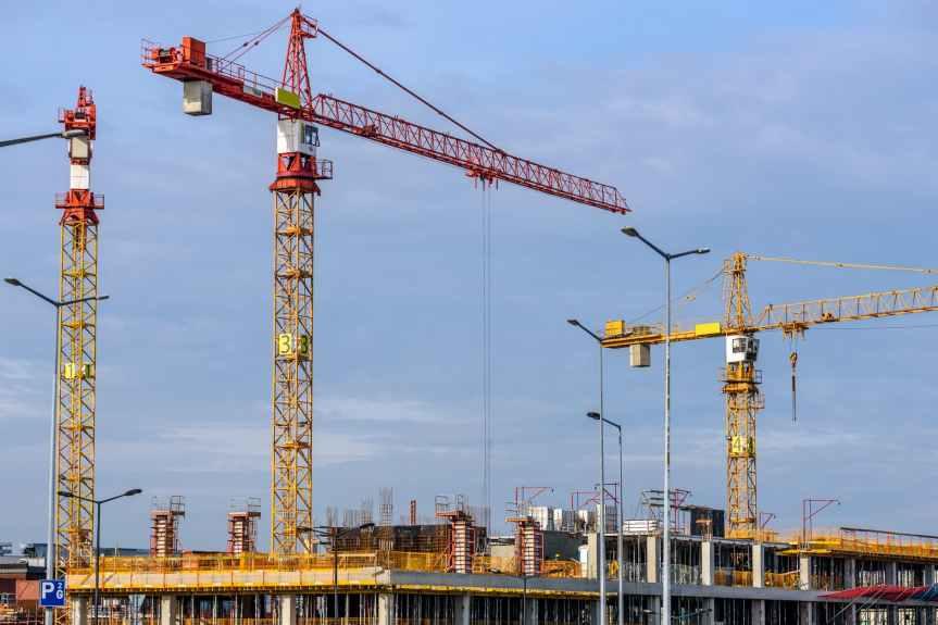 architecture building building site business